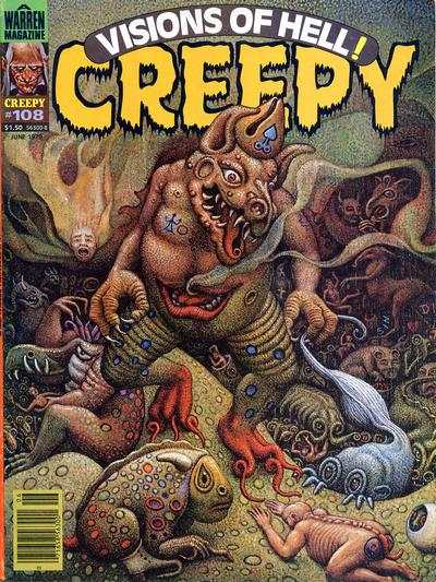 Creepy #108 comic books - cover scans photos Creepy #108 comic books - covers, picture gallery