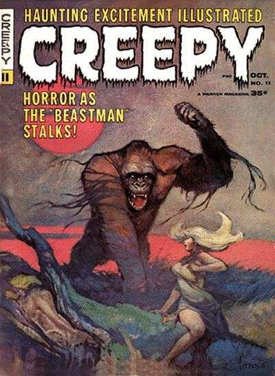 Creepy #11 comic books - cover scans photos Creepy #11 comic books - covers, picture gallery