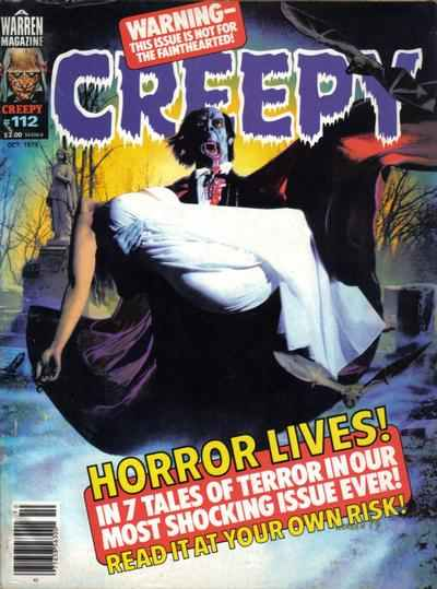 Creepy #112 comic books - cover scans photos Creepy #112 comic books - covers, picture gallery