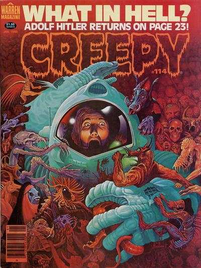 Creepy #114 comic books - cover scans photos Creepy #114 comic books - covers, picture gallery