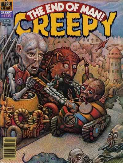 Creepy #116 comic books - cover scans photos Creepy #116 comic books - covers, picture gallery