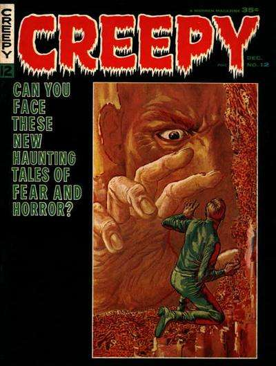 Creepy #12 comic books - cover scans photos Creepy #12 comic books - covers, picture gallery