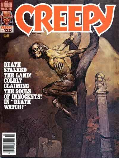 Creepy #120 comic books - cover scans photos Creepy #120 comic books - covers, picture gallery