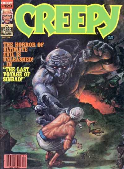 Creepy #129 comic books - cover scans photos Creepy #129 comic books - covers, picture gallery