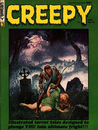Creepy #13 comic books - cover scans photos Creepy #13 comic books - covers, picture gallery