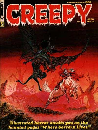 Creepy #14 comic books - cover scans photos Creepy #14 comic books - covers, picture gallery