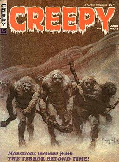 Creepy #15 comic books - cover scans photos Creepy #15 comic books - covers, picture gallery
