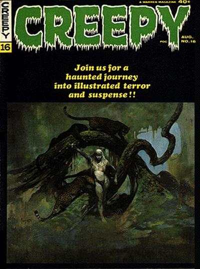 Creepy #16 comic books - cover scans photos Creepy #16 comic books - covers, picture gallery
