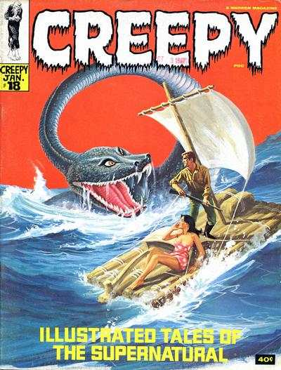 Creepy #18 comic books - cover scans photos Creepy #18 comic books - covers, picture gallery