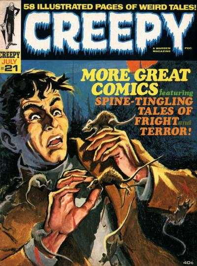 Creepy #21 comic books - cover scans photos Creepy #21 comic books - covers, picture gallery