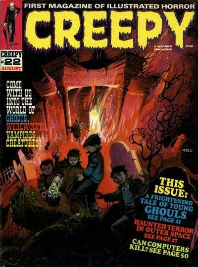 Creepy #22 comic books - cover scans photos Creepy #22 comic books - covers, picture gallery
