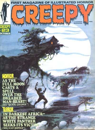 Creepy #23 comic books - cover scans photos Creepy #23 comic books - covers, picture gallery