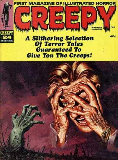 Creepy #24 comic books - cover scans photos Creepy #24 comic books - covers, picture gallery