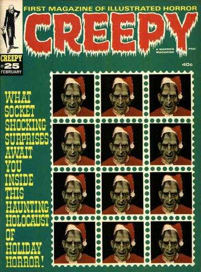 Creepy #25 comic books - cover scans photos Creepy #25 comic books - covers, picture gallery