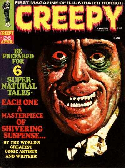 Creepy #26 comic books - cover scans photos Creepy #26 comic books - covers, picture gallery