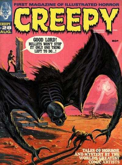 Creepy #28 comic books - cover scans photos Creepy #28 comic books - covers, picture gallery