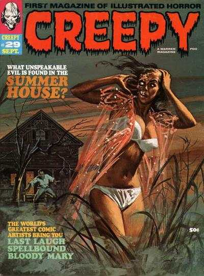 Creepy #29 comic books - cover scans photos Creepy #29 comic books - covers, picture gallery