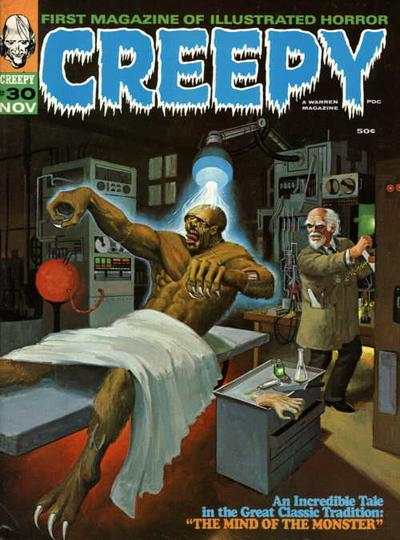 Creepy #30 comic books - cover scans photos Creepy #30 comic books - covers, picture gallery