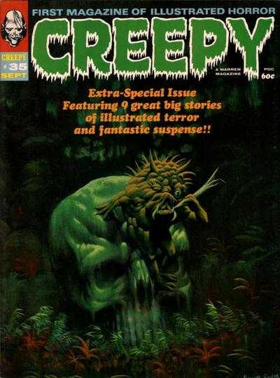 Creepy #35 comic books for sale