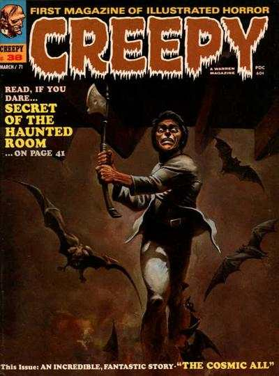 Creepy #38 comic books - cover scans photos Creepy #38 comic books - covers, picture gallery