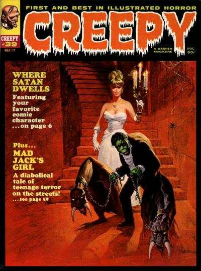 Creepy #39 comic books - cover scans photos Creepy #39 comic books - covers, picture gallery