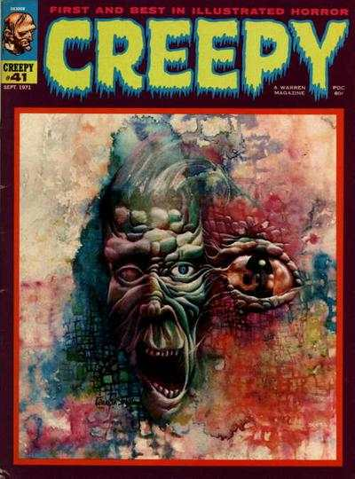 Creepy #41 comic books - cover scans photos Creepy #41 comic books - covers, picture gallery