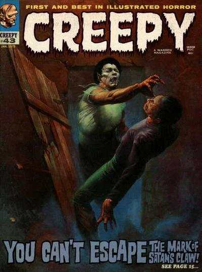 Creepy #43 comic books - cover scans photos Creepy #43 comic books - covers, picture gallery