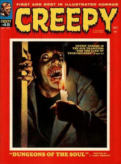 Creepy #45 comic books - cover scans photos Creepy #45 comic books - covers, picture gallery