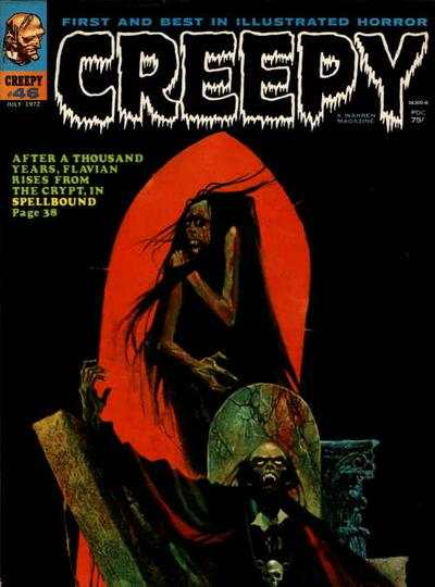 Creepy #46 comic books - cover scans photos Creepy #46 comic books - covers, picture gallery