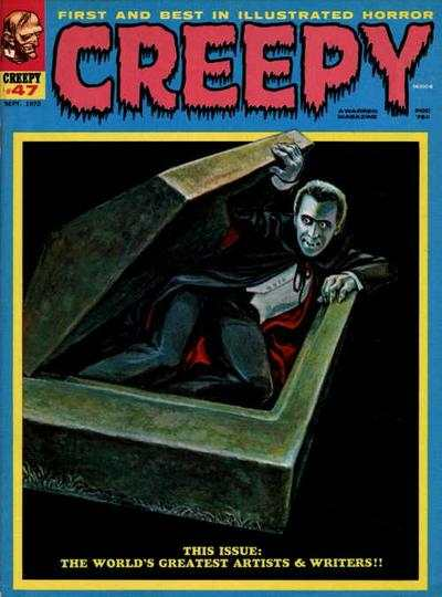 Creepy #47 comic books - cover scans photos Creepy #47 comic books - covers, picture gallery