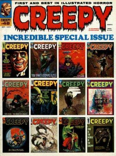 Creepy #48 comic books - cover scans photos Creepy #48 comic books - covers, picture gallery