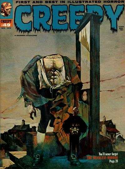 Creepy #49 comic books - cover scans photos Creepy #49 comic books - covers, picture gallery