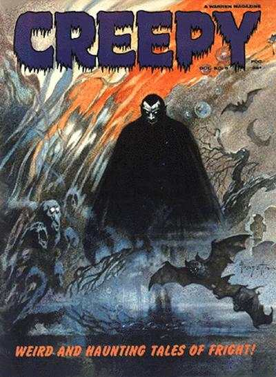 Creepy #5 Comic Books - Covers, Scans, Photos  in Creepy Comic Books - Covers, Scans, Gallery