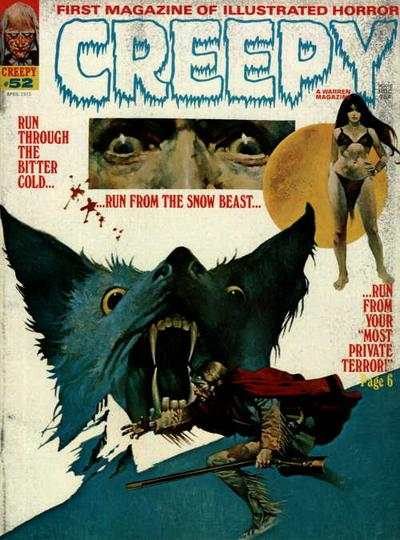 Creepy #52 comic books - cover scans photos Creepy #52 comic books - covers, picture gallery