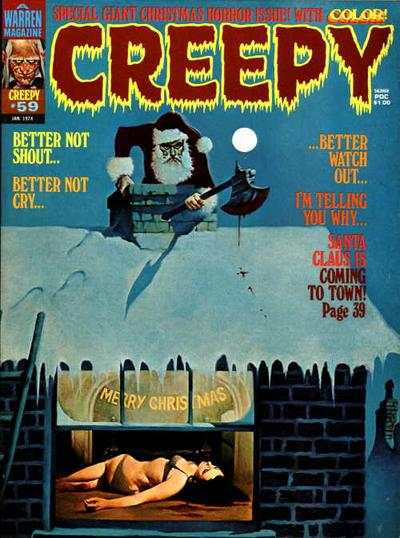 Creepy #59 comic books - cover scans photos Creepy #59 comic books - covers, picture gallery