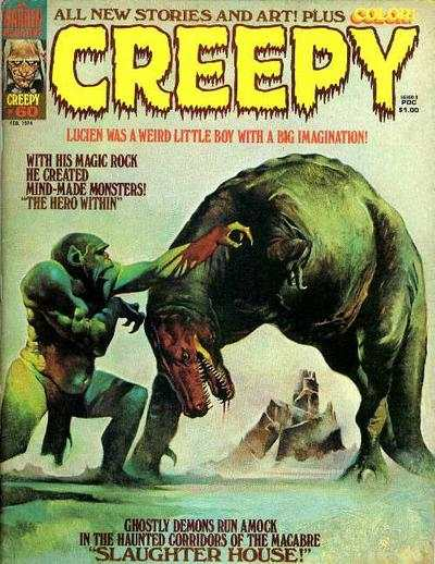 Creepy #60 comic books for sale