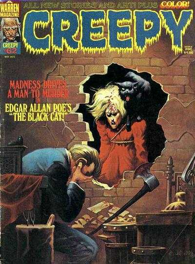 Creepy #62 comic books - cover scans photos Creepy #62 comic books - covers, picture gallery