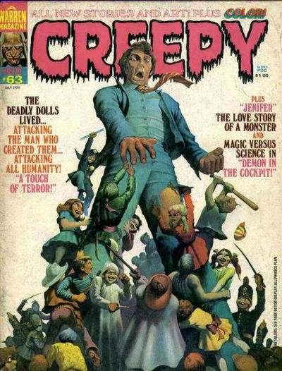 Creepy #63 comic books - cover scans photos Creepy #63 comic books - covers, picture gallery
