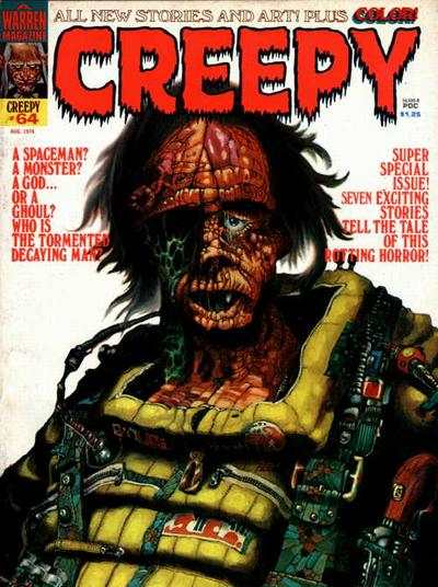 Creepy #64 comic books - cover scans photos Creepy #64 comic books - covers, picture gallery