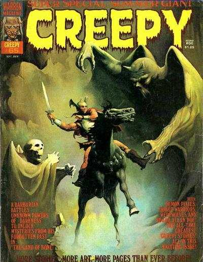 Creepy #65 comic books - cover scans photos Creepy #65 comic books - covers, picture gallery