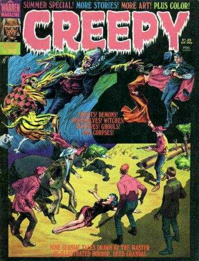 Creepy #74 comic books - cover scans photos Creepy #74 comic books - covers, picture gallery