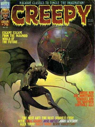 Creepy #75 comic books - cover scans photos Creepy #75 comic books - covers, picture gallery