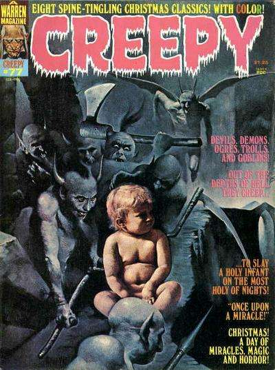 Creepy #77 comic books - cover scans photos Creepy #77 comic books - covers, picture gallery