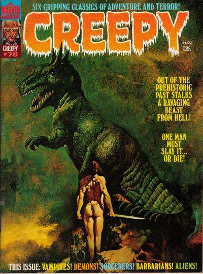 Creepy #78 comic books - cover scans photos Creepy #78 comic books - covers, picture gallery