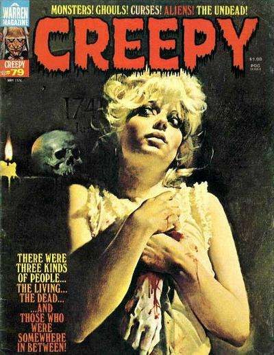 Creepy #79 comic books - cover scans photos Creepy #79 comic books - covers, picture gallery