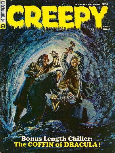 Creepy #8 comic books - cover scans photos Creepy #8 comic books - covers, picture gallery