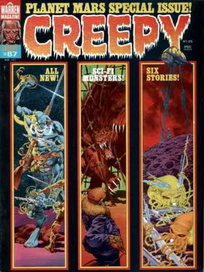 Creepy #87 comic books - cover scans photos Creepy #87 comic books - covers, picture gallery