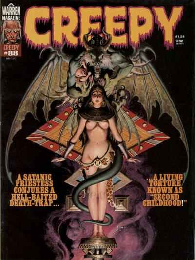 Creepy #88 comic books - cover scans photos Creepy #88 comic books - covers, picture gallery