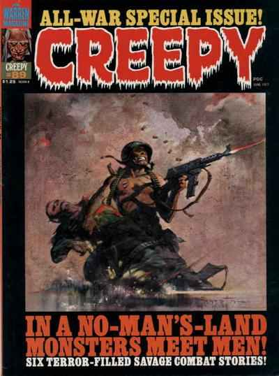 Creepy #89 comic books - cover scans photos Creepy #89 comic books - covers, picture gallery