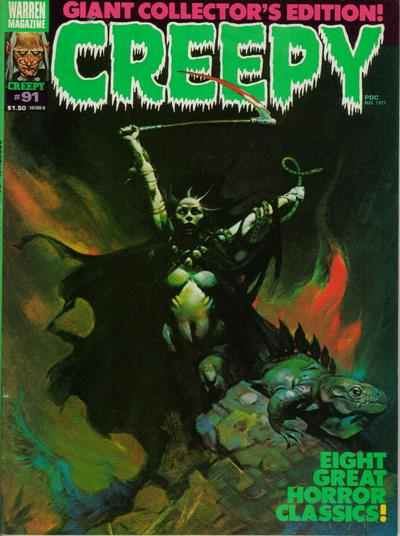 Creepy #91 comic books - cover scans photos Creepy #91 comic books - covers, picture gallery